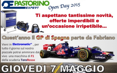PASTORINO EXPERT OPEN DAY 2015